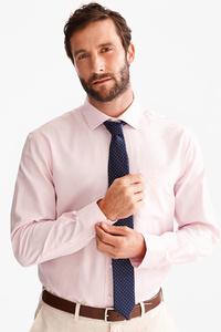 Canda         Businesshemd mit Krawatte - Regular Fit - Cutaway