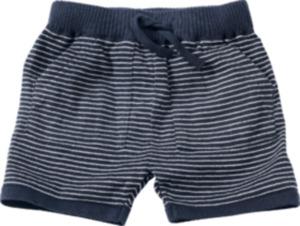 ALANA Baby-Shorts, Gr. 74, in Bio-Baumwolle, blau, weiß, für Mädchen und Jungen