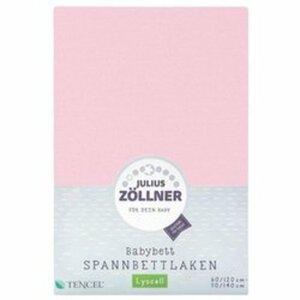 Zöllner - Spannbetttuch Tencel rosa (70/140)
