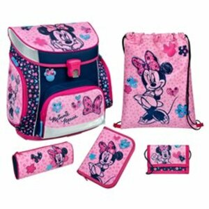 Scooli - Minnie Mouse: Ranzenset Campus Fit, 5-tlg.