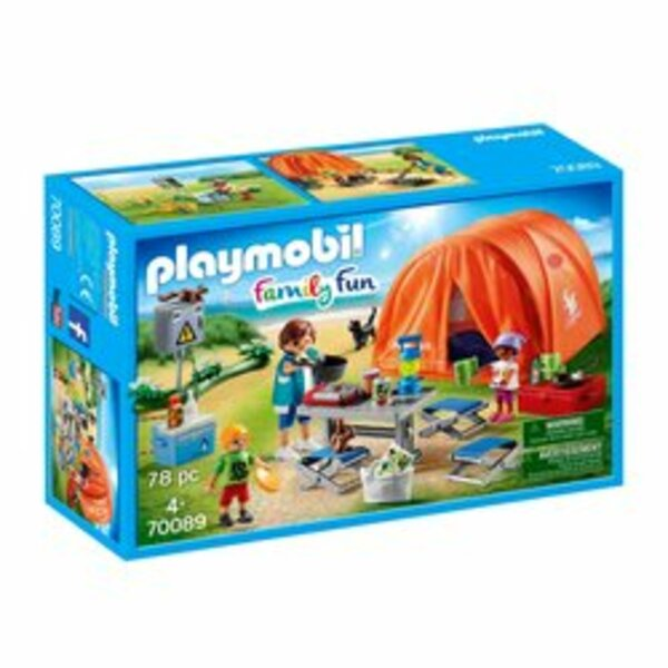PLAYMOBIL - 70089 Familien-Camping