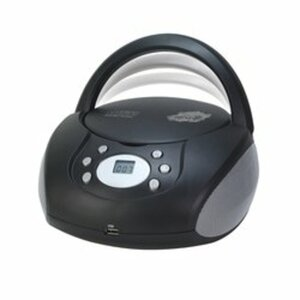 Just Play - CD/MP3 Boombox, schwarz