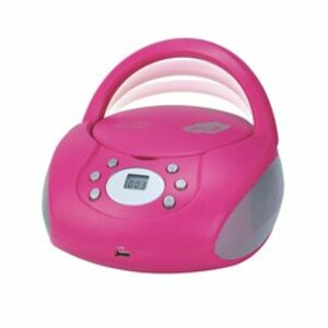 Just Play - CD/MP3 Boombox, pink