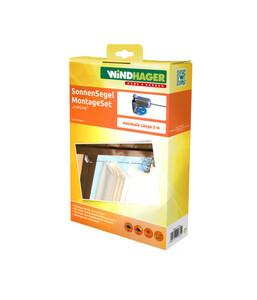 Windhager Montageset InoxLine Edelstahl
