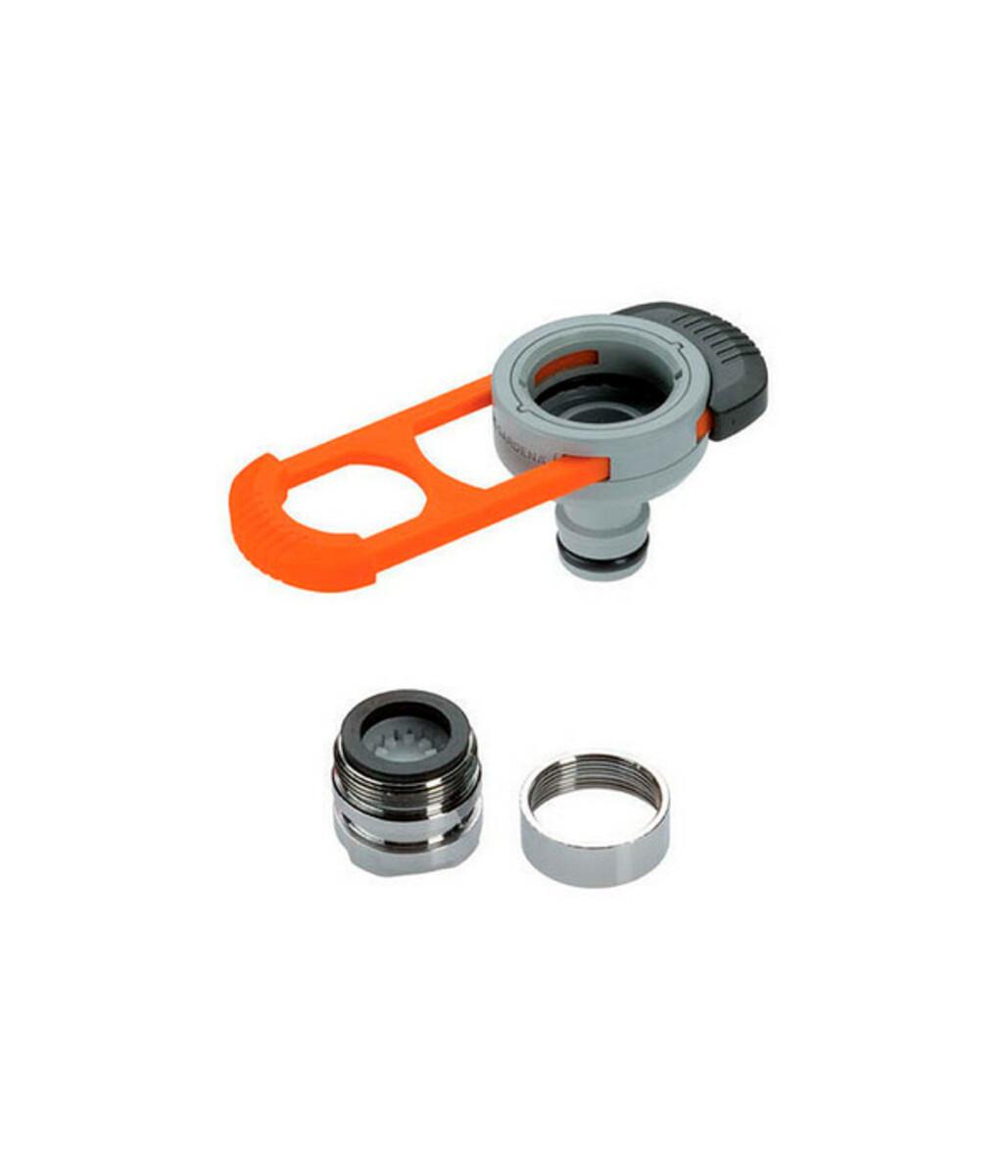 Bild 1 von GARDENA Universal Gartenschlauch-Adapter für Indoor-Wasserhähne