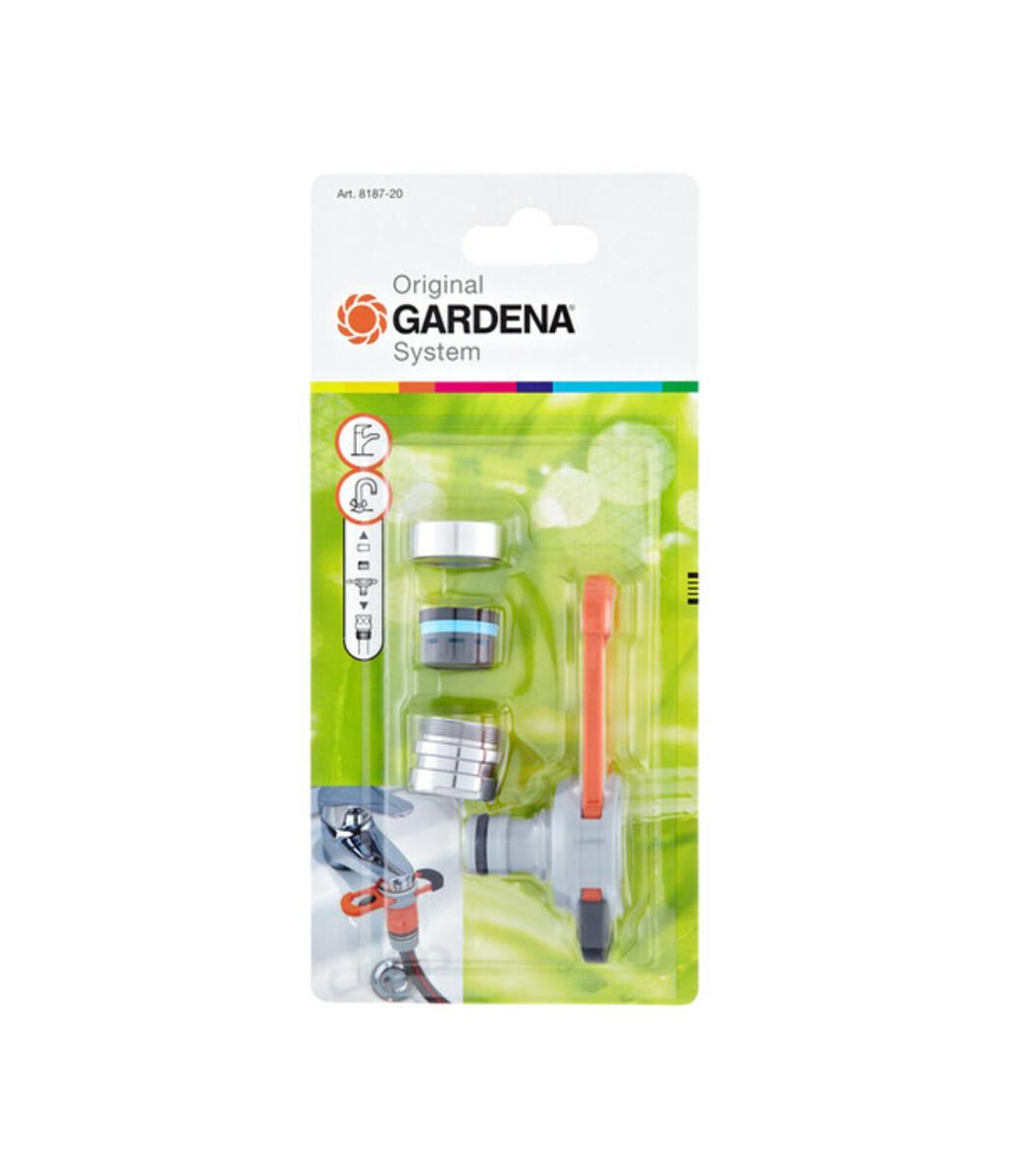 Bild 3 von GARDENA Universal Gartenschlauch-Adapter für Indoor-Wasserhähne