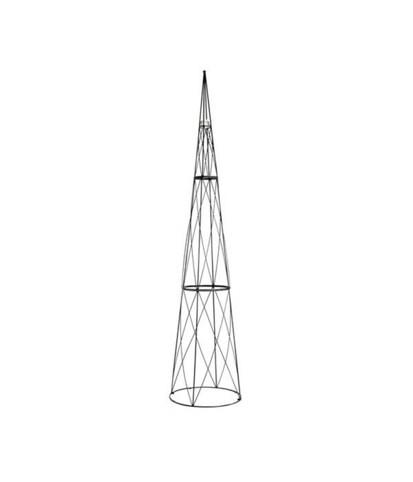 Rankhilfe Obelisk mit Glaskugel, 2,7 m