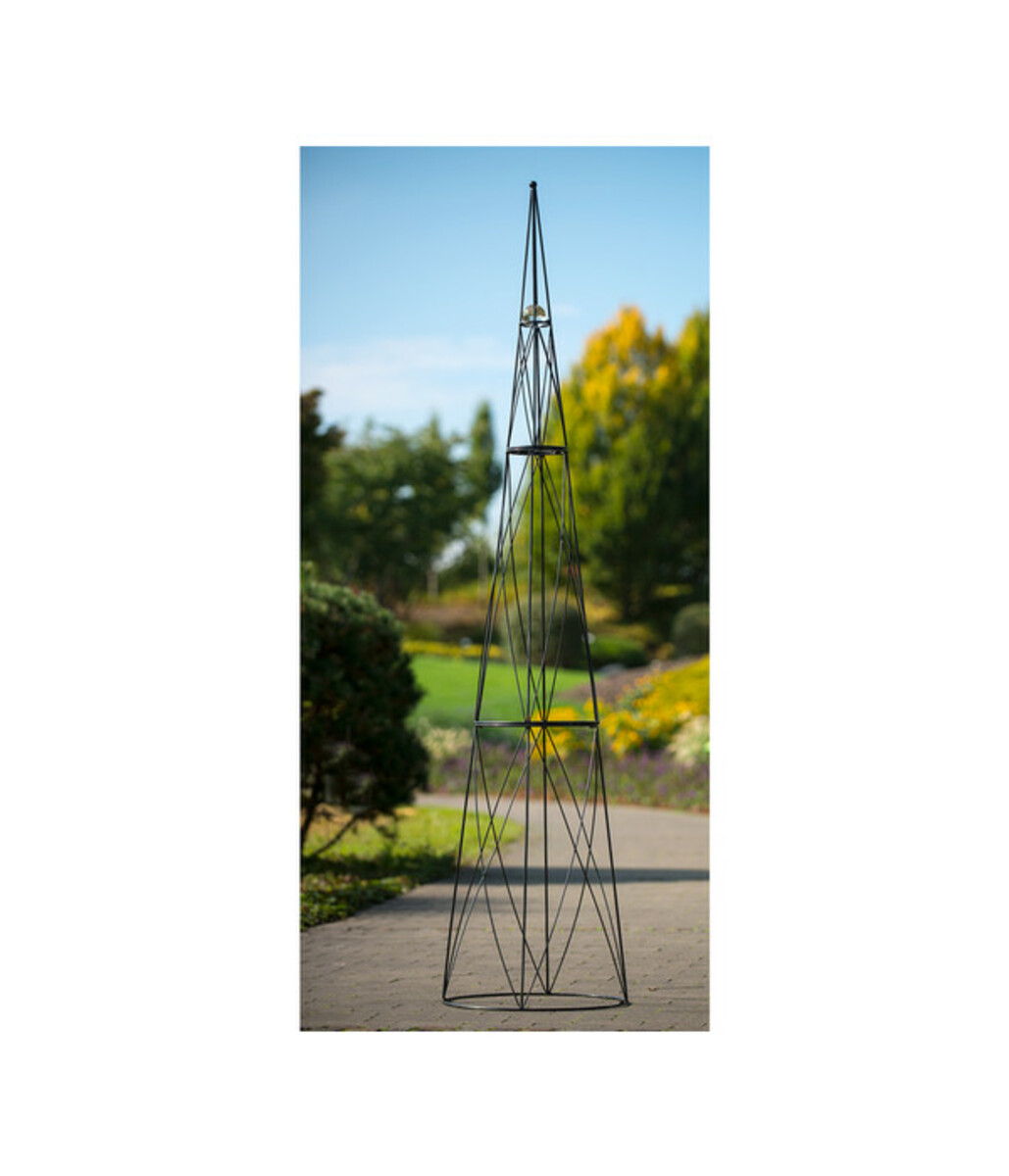 Bild 2 von Rankhilfe Obelisk mit Glaskugel, 2,7 m