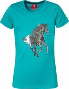 T-Shirt CALIBER mit Wendepailletten grün Gr. 176 Mädchen Kinder