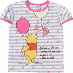 Disney Winnie Puuh Baby T-Shirt grau Gr. 80 Mädchen Baby