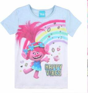 Trolls T-Shirt hellblau Gr. 104 Mädchen Kleinkinder