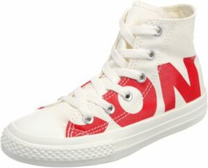 Kinder Sneakers High Chuck Taylor All Star weiß Gr. 31,5