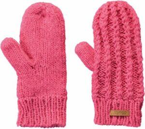 Strick-Fausthandschuhe LUZIA Gr. 4 rosa Mädchen Kinder