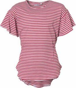 T-Shirt mit Knoten rot Gr. 152 Mädchen Kinder