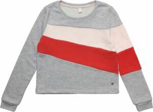 Sweatshirt silber Gr. 164 Mädchen Kinder
