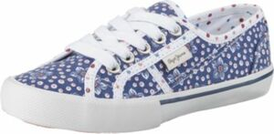 Sneakers Low BAKER FLOWERS blau Gr. 32 Mädchen Kinder