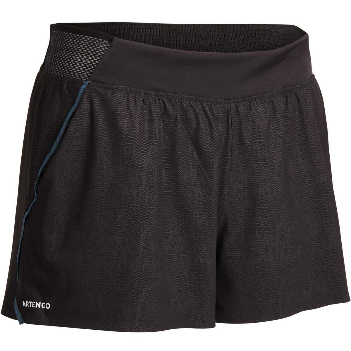 Bild 1 von Tennis-Shorts SH light 900 Tennis Damen grau/schwarz