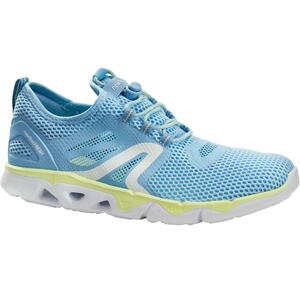 Walkingschuhe PW 500 Fresh Damen blau/gelb