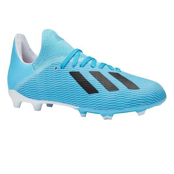 Fußballschuhe X 19.3 FG Kinder blau