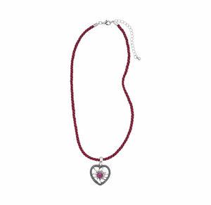 Damen-Kette mit schönem Herzanhänger
