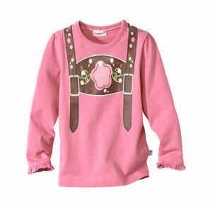 Liegelind Baby-Mädchen-Trachten-Shirt in Pink