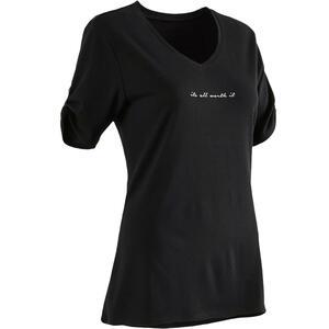 T-Shirt 510 Gym & Pilates Damen schwarz
