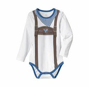 Liegelind Baby-Jungen-Body in markanter Trachten-Optik