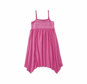 Kids Mädchen-Kleid mit Pünktchen-Muster