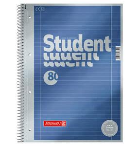 BRUNNEN             Collegeblock Liniert 27, liniert, DIN A4                 (2 Stück)