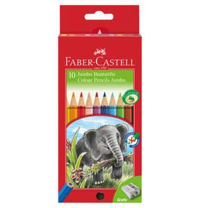 Faber-Castell             Jumbo Farbstifte 10-teilig 111210