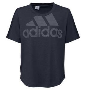 adidas             T-Shirt, Logo-Design, Baumwolle-Mix, für Damen