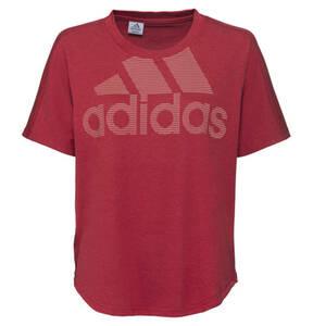 adidas             T-Shirt, Logo-Print, Baumwolle-Mix, für Damen
