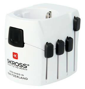 Skross World Travel Adapter Pro, Reisestecker