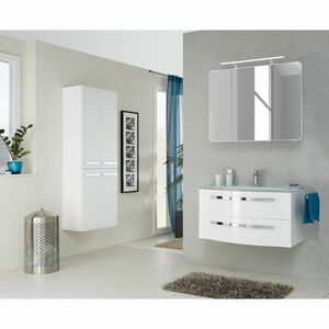 home24 Badezimmerset Fokus 4005 VII (2-teilig)