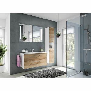 home24 Badezimmerset Fokus 3065 VI (2-teilig)