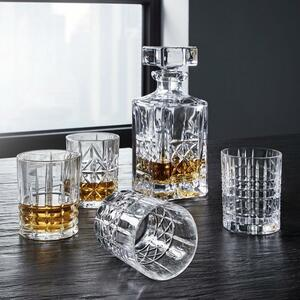 Gläserset: Karaffe und 4 Whiskeygläser Nachtmann