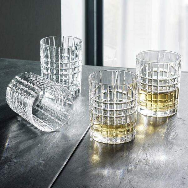 Whiskygläserset Nachtmann Square 4-teilig