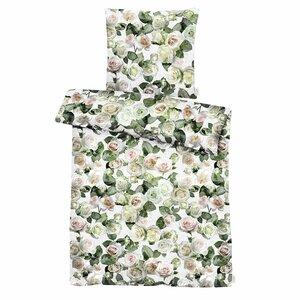 Apelt Bettwäsche   Rosenblüten 135 x 200 cm