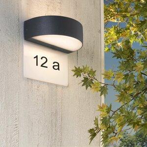 Brilliant LED-Außenwandleuchte   Monido