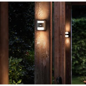 Philips LED-Außenwandleuchte   Grass
