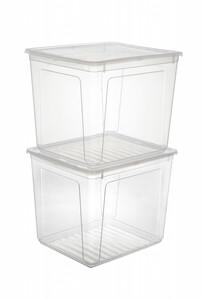 keeeper Clear Boxen, 2 x 30 Liter