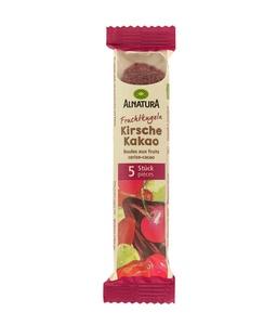 Fruchtkugeln Kirsche und Kakao