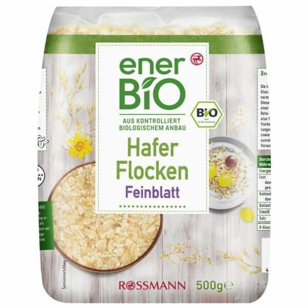 enerBiO Haferflocken Feinblatt 1.98 EUR/1 kg