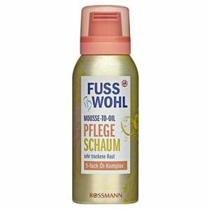 Fusswohl Mousse-to-Oil Pflegeschaum