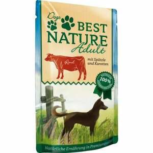 Best Nature Hundefutter Adult Rind & Spätzle 0.66 EUR/100 g (12 x 150.00g)
