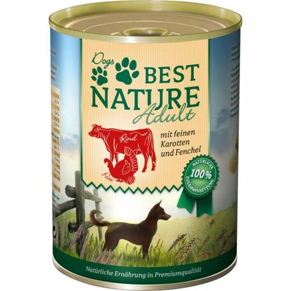 Best Nature Hundefutter Adult Rind & Pute 3.73 EUR/1 kg