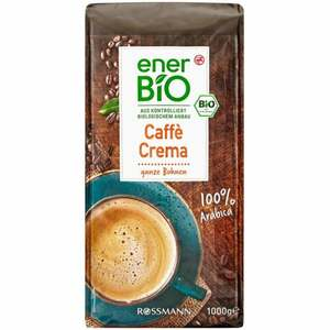 enerBiO Caffè Crema ganze Bohne