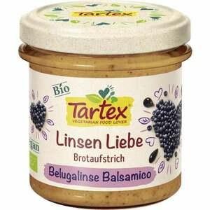 Tartex Bio Linsen Liebe Brotaufstrich Belugalinse Balsa 1.85 EUR/100 g