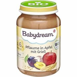 Babydream Bio Pflaume in Apfel mit Grieß 0.29 EUR/100 g (6 x 190.00g)