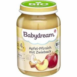 Babydream Bio Apfel-Pfirsich mit Zwieback 0.29 EUR/100 g (6 x 190.00g)